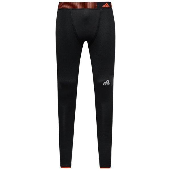 9a25a8633f8f0 adidas Techfit Climaheat Tights 2.0 Black/Bold Orange | www ...