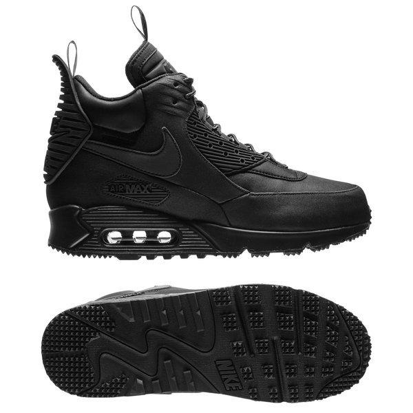 Nike Air Max 90 Sneakerboot Winter Black Www Unisportstore Com