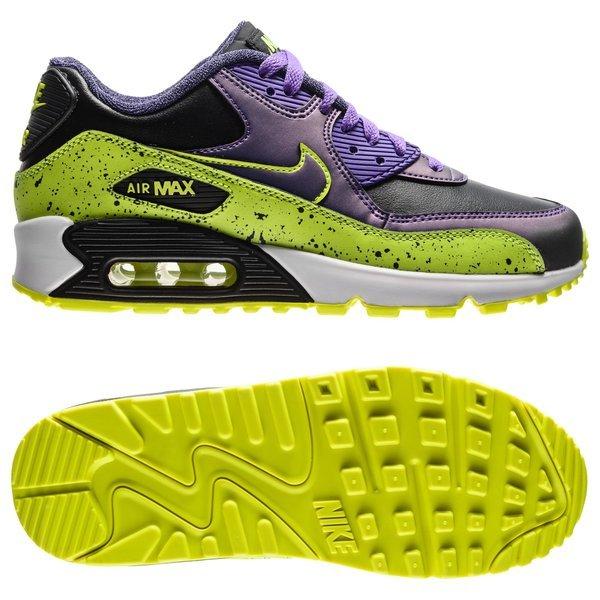Nike Air Max 90 FB LilaSvartNeon Barn