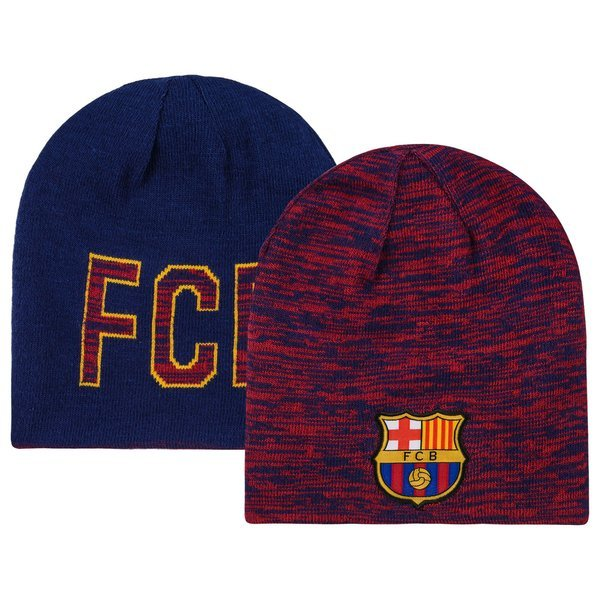 796a9d9db33 barcelona beanie reversible burgundy navy ...