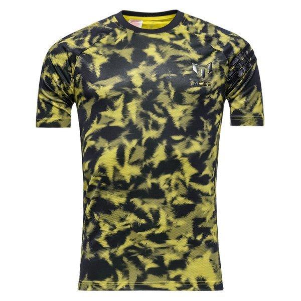 alkuun tuotemerkkejä myynti Yhdysvalloissa verkossa superlaatu adidas T-Paita Messi AOP Musta/Keltainen Lapset
