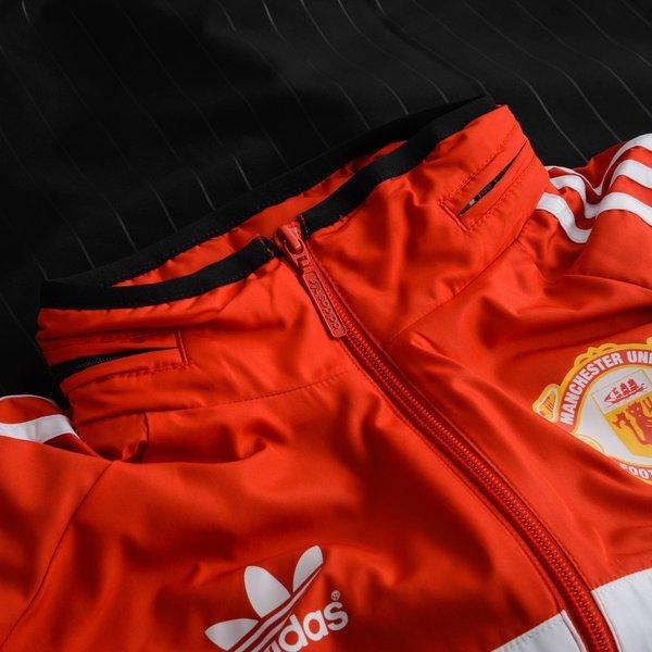 Manchester United Windbreaker Originals SchwarzRot