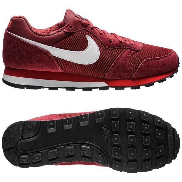 estilo novedoso talla 7 muy bonito Nike MD Runner 2 Team Red/White/University Red
