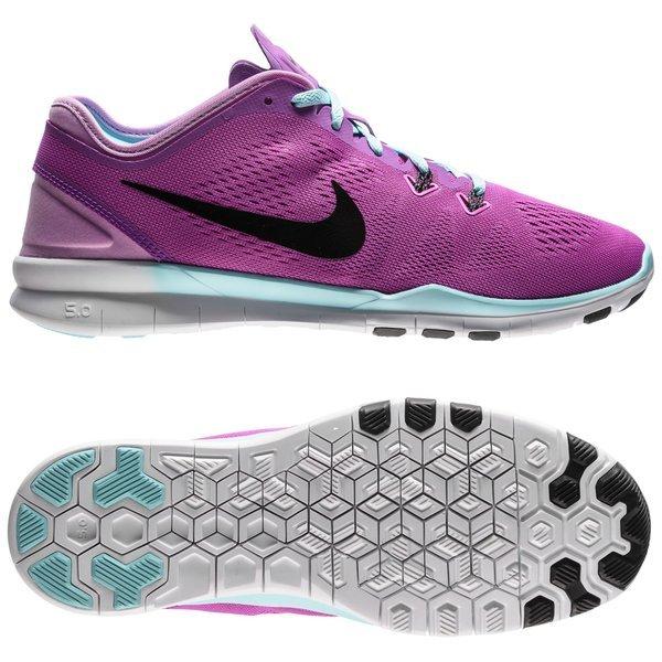 huge discount 3adf8 963bf Nike Chaussures de Running Free 5.0 TR FIT 5 Violet Noir - Femme 0