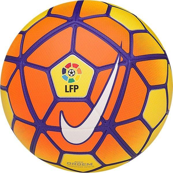 7218dbde65d Nike Voetbal Ordem III LFP La Liga Geel/Oranje/Paars   www ...