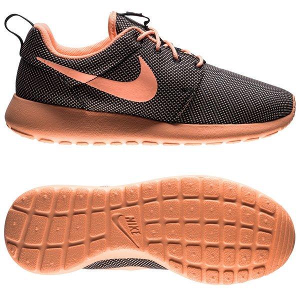 online store 03c2d 66c85 Nike Roshe Run Zwart Oranje Vrouwen 0