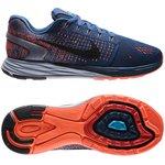 Nike Løbesko LunarGlide 7 Blå/Sort/Hvid