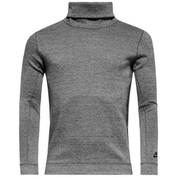 nike sweatshirt tech fleece funnel grau. Black Bedroom Furniture Sets. Home Design Ideas