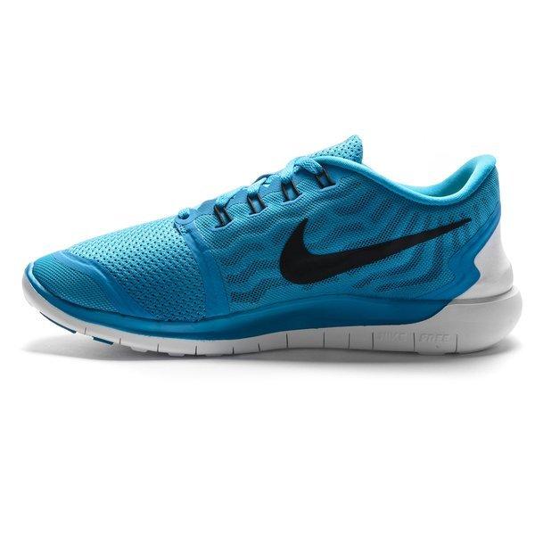 da274480657d Nike Free Running Shoe 5.0 Blue Lagoon Black-Copa-White