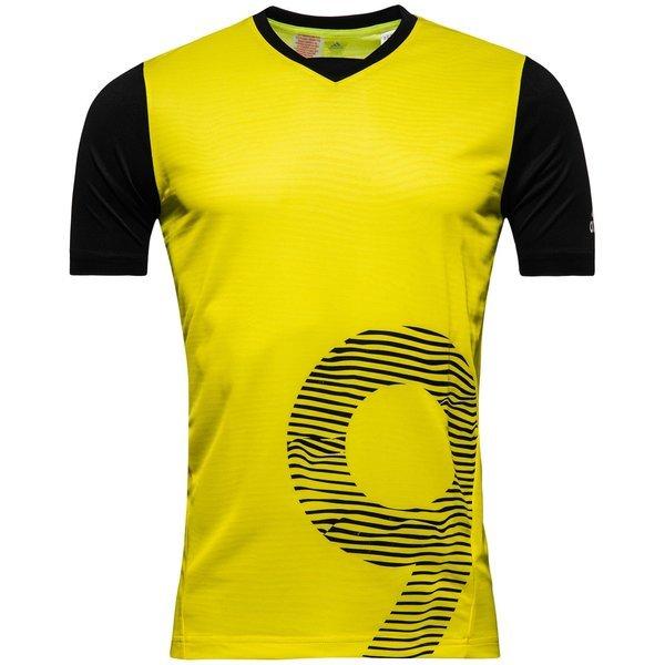 ostaa hämmästyttävä hinta vähittäishinnat adidas Training T-Paita X Keltainen/Musta Lapset