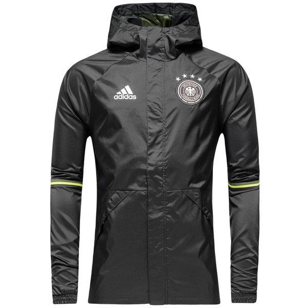 Germany Rain Jacket Solid Grey