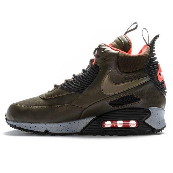 Nike Air Max 90 Sneakerboot Winter (Dark LodenBlack Bright