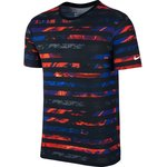 Nike T-Shirt Ronaldo Striped CR7 Sort