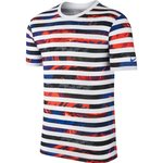 Nike T-Shirt Ronaldo Striped CR7 Hvid