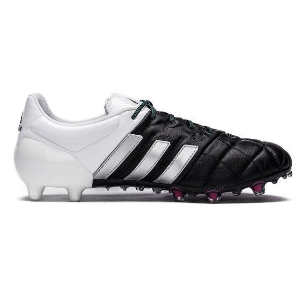 hot sale online c325a aaedb adidas Ace 15.1 Leather FG/AG Core Black/Matte Silver/White ...