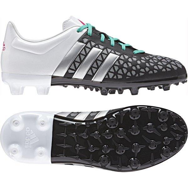 e669ee62212 55.00 EUR. Price is incl. 19% VAT. -56%. adidas Ace 15.3 FG AG Core Black Matte  Silver White Kids