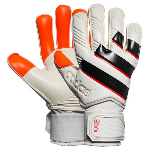 adidas Goalkeeper Glove Ace Zones Pro 98 White Black Solar Red ... fece3bfa05e4