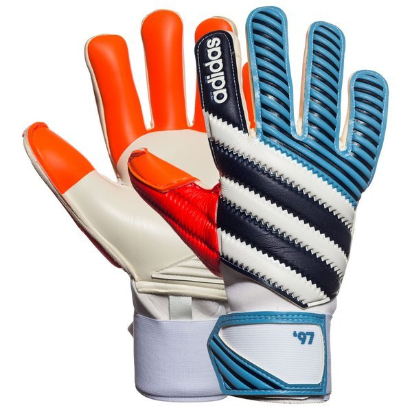 cheap for discount cb32e 8d99e adidas Goalkeeper Glove Ace Zones Pro 97 Lucky Blue/Dark ...