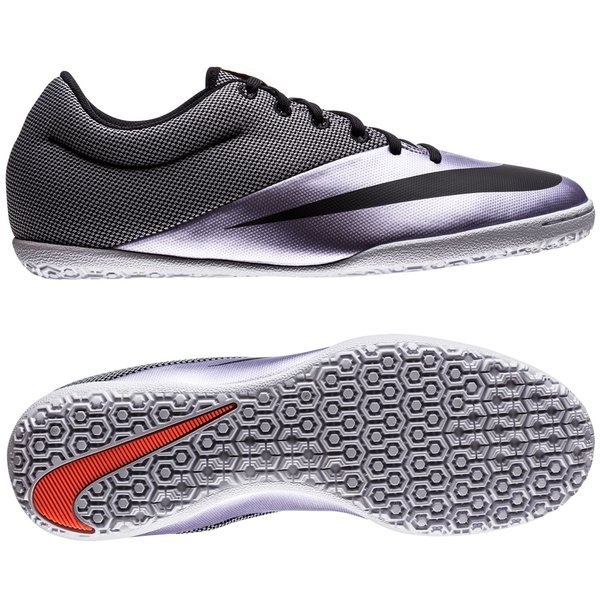reputable site df7f8 de5fa Nike MercurialX Pro IC Urban Lilac/Black/Bright Mango | www ...