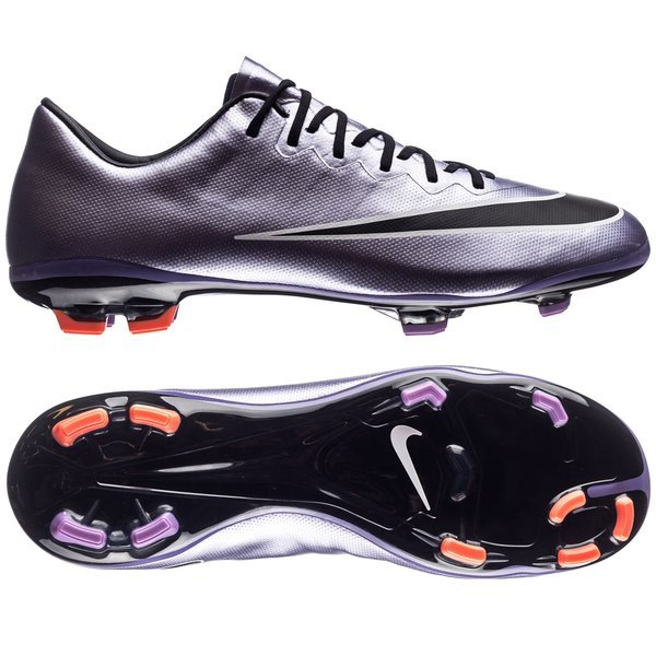 c6909d156dc 95.00 EUR. Price is incl. 19% VAT. -50%. Nike Mercurial Vapor X FG Urban  Lilac Bright Mango Black Kids
