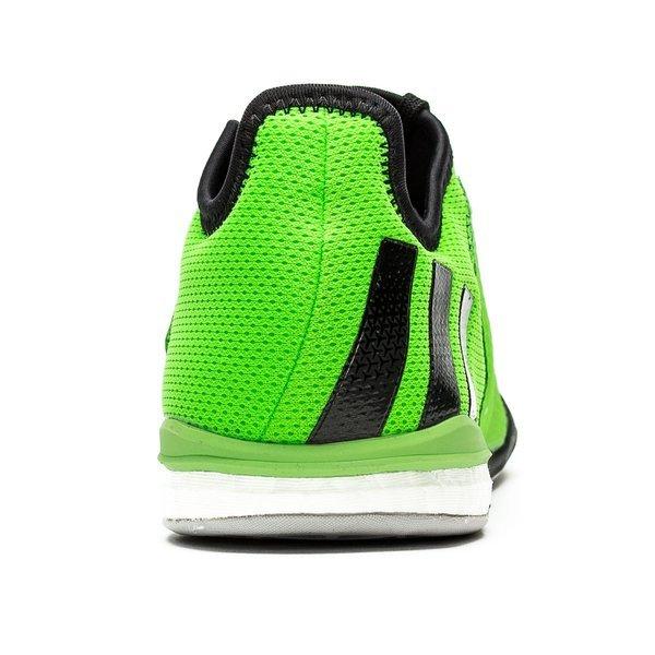 size 40 8fa84 72b4b adidas Ace 16.1 Court Boost IN Solar Green/Core Black/Shock ...