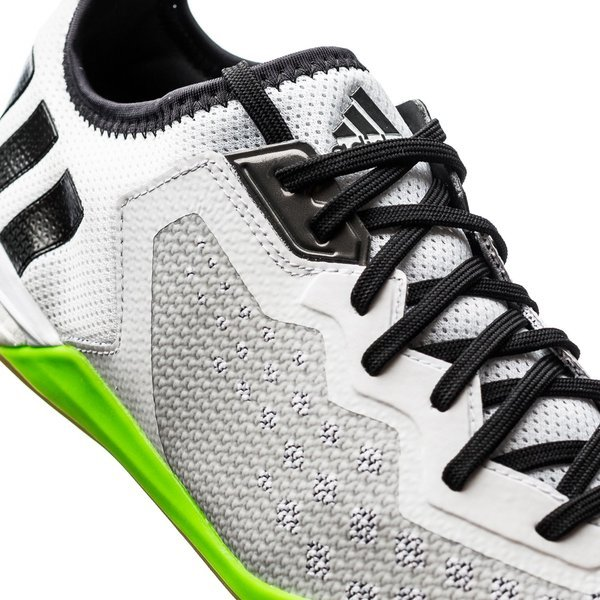 best website 21851 3a043 adidas Ace 16.1 Court Boost IN White/Solar Green/Shock Pink ...