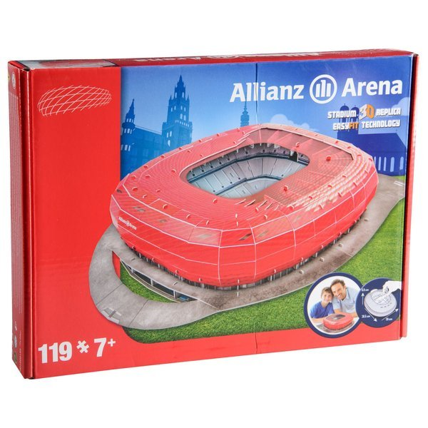 Bayern Munich Puzzle 3D Allianz Arena