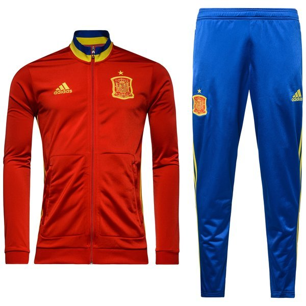 Spain Tracksuit Presentation Scarlet/Bright Yellow ...