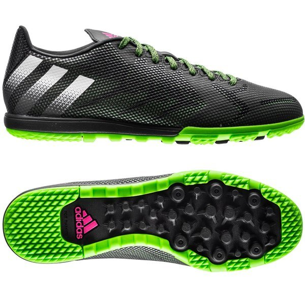 d950266d518 ... purchase adidas ace 16.1 cage tf core black white solar green 9b4ac  b5b35