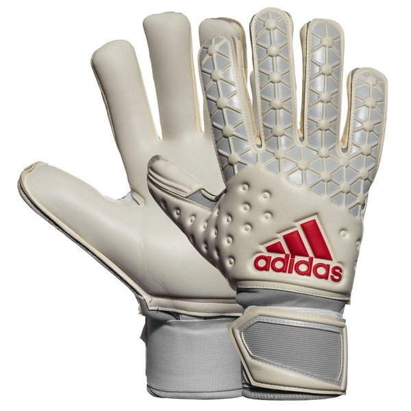 Matemático Borde número  adidas Goalkeeper Glove Ace Pro Classic White/Light Solid Grey/Black/Shock  Red | www.unisportstore.com