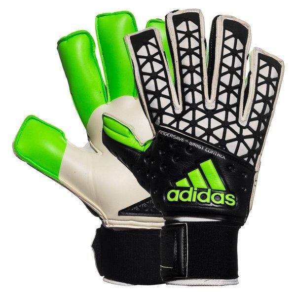 adidas Goalkeeper Glove Ace Zones Ultimate Black White Solar Green ... ff13dc84c