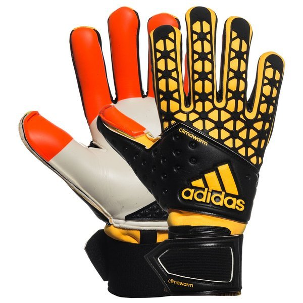 Humano Girar Hipócrita  adidas Goalkeeper Glove Ace Climawarm Solar Red/Black/Solar Gold |  www.unisportstore.com