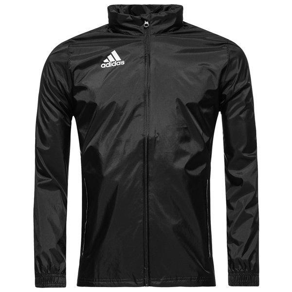 83398b3543bf adidas rain jacket core 15 black kids ...
