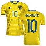 Sverige Hjemmebanetrøje 2016/17 IBRAHIMOVIC 10