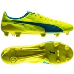 Puma evoSPEED SL FG Safety Yellow/Atomic Blue/White