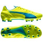 Puma evoSPEED 1.4 FG Safety Yellow/Atomic Blue/White