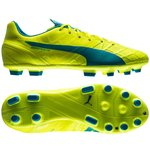 Puma evoSPEED 1.4 AG Safety Yellow/Atomic Blue/White