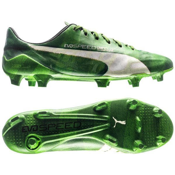 7e018bee19f 270.00 EUR. Price is incl. 19% VAT. -55%. Puma evoSPEED SL Grass FG Jasmine  Green White Black LIMITED EDITION