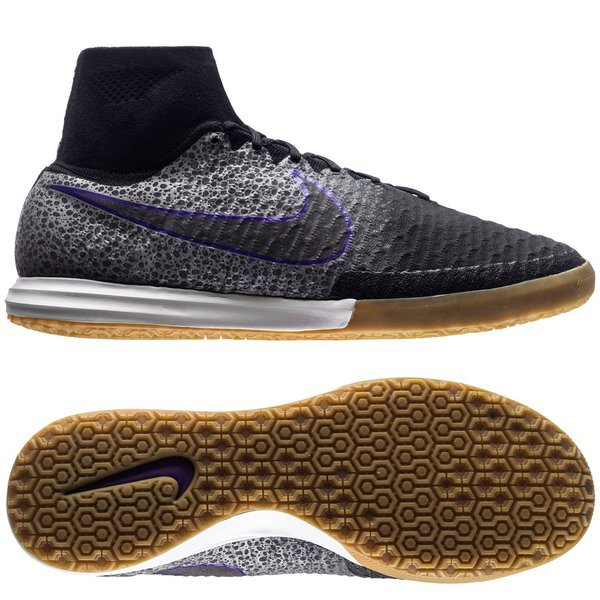 cbcc0f41898e Nike MagistaX Proximo IC Black Wolf Grey Purple