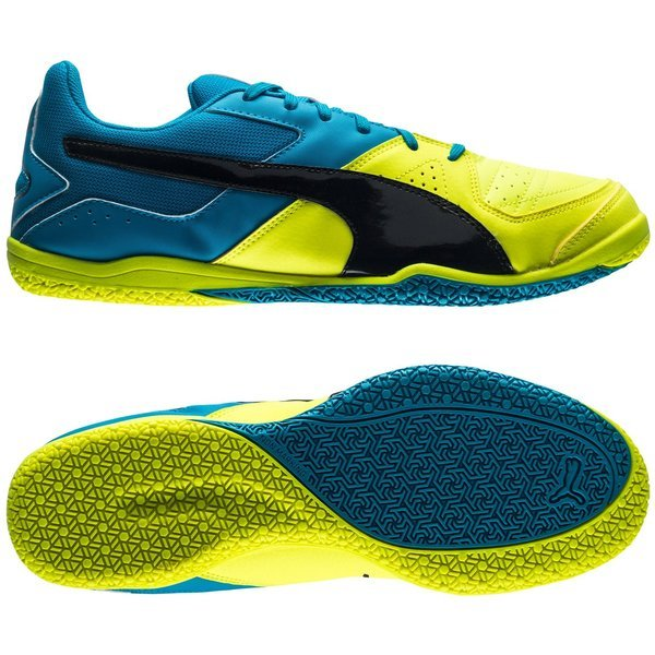 Puma Gavetto Sala Safety Yellow Black Atomic Blue  fabad82be