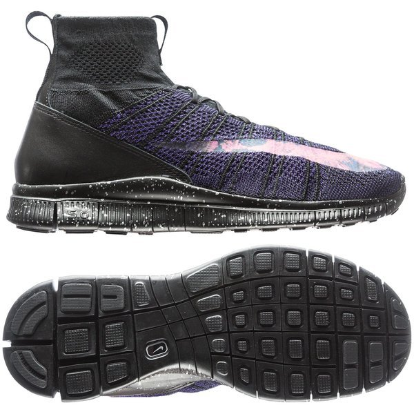 cbee30e1da1e Nike Free Flyknit Mercurial CR7 Savage Beauty Black Bright Crimson ...