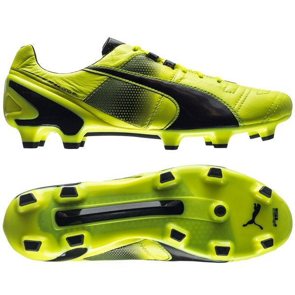 6708e7a9af6 Puma King II SL FG Safety Yellow Black. Read more about the product. -  football boots. - football boots image shadow