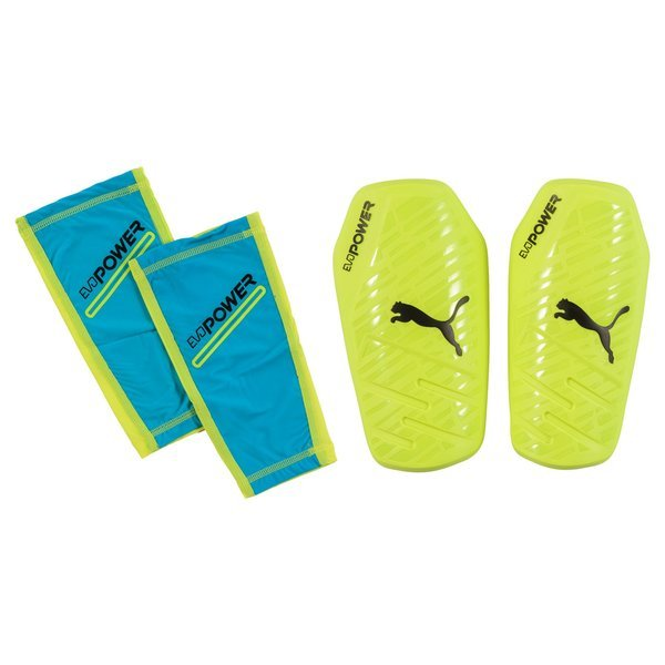 Puma Shin Pad evoPOWER 1.3 Slip Safety Yellow/Atomic Blue/Black. Read more  about the product. - shin pads. - shin pads
