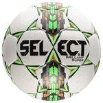 Select Ballon de Football Brillant Super Blanc/Vert