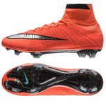 Nike Mercurial Superfly FG Orange/Sølv/Sort