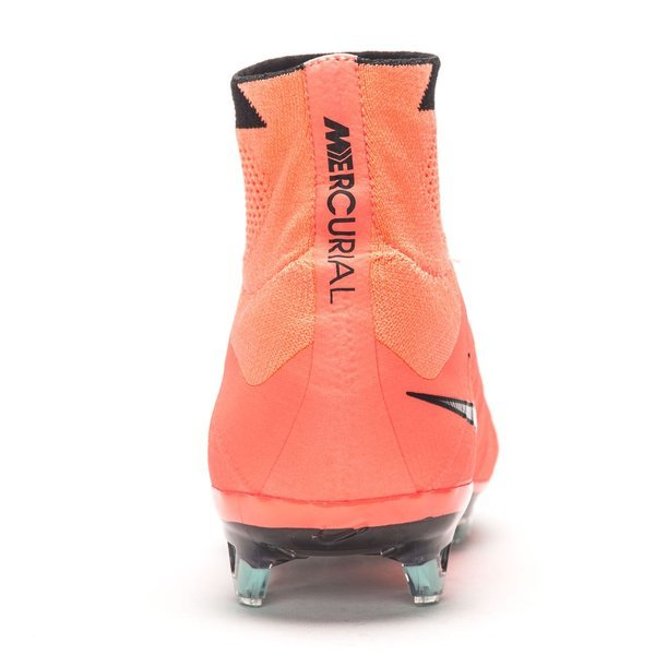 uk availability 11b8e 76dbc Nike Mercurial Superfly FG Bright Mango Metallic Silver Black