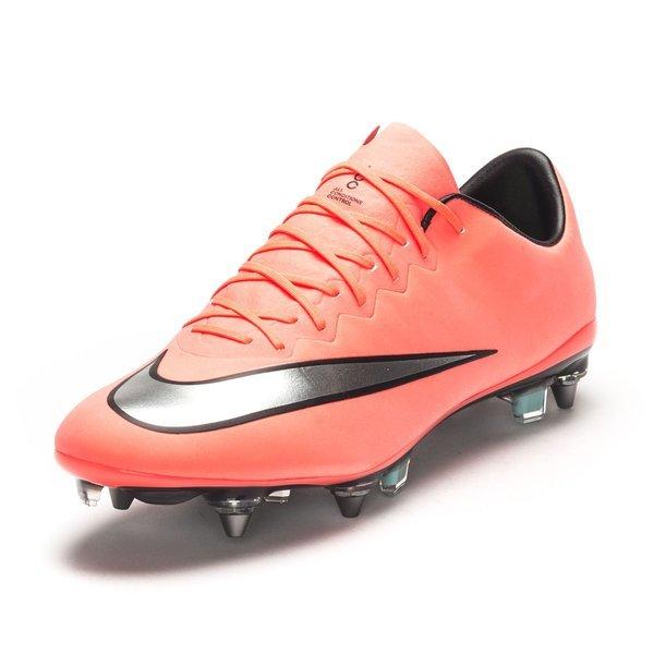 release date: ba68e 8ed1c Nike Mercurial Vapor X SG-PRO Bright Mango/Metallic Silver ...