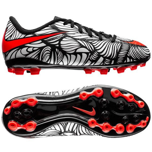 c11055839dc Nike Hypervenom Phelon II Neymar Jr AG Black Bright Crimson White Kids.  Read more about the product. - football boots. - football boots image shadow