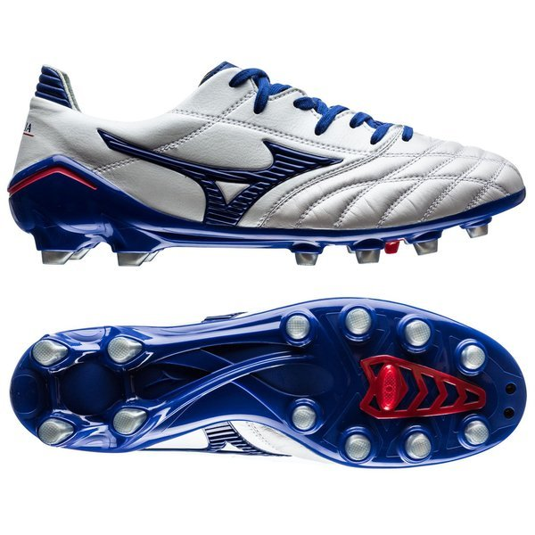 Mizuno Morelia Neo Pearl-Surf The Web-Chinese Red Chaussure de Foot