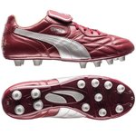 """PUMA King Top City Pack """"Bordeaux"""" FG Rot/Silber LIMITED EDITION"""